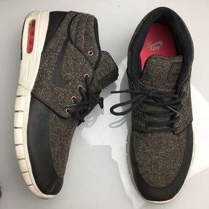 Nike Stefan Janoski Tweed Brown Baroque Mid Max 11